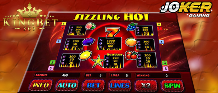 Keseruhan Bermain Game Slot Sizziling Hot Joker gaming