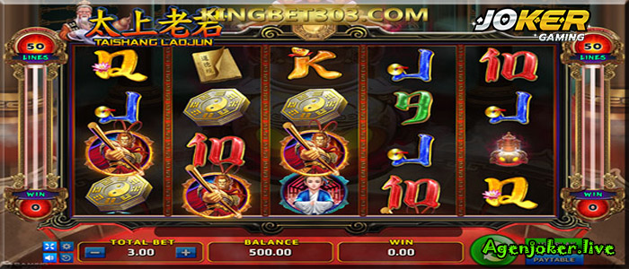 Slot Online Joker Tai Shang Lau Jun gaming Terbaik